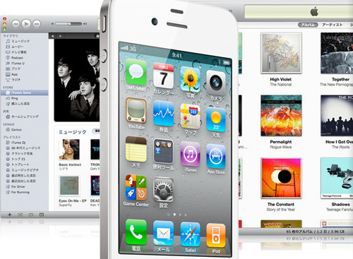 iTunes機能とiTunesの使い方