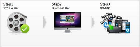 mp4 変換 mac