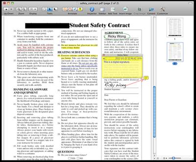 pdfファイルにテキスト追加