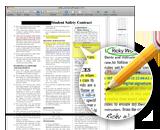 PDFに注釈Mac