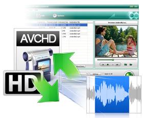 AVCHD動画を変換する方法説明